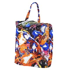 Smashed Butterfly Giant Grocery Zipper Tote by bestdesignintheworld