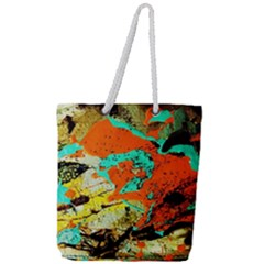 Fragrance Of Kenia 9 Full Print Rope Handle Tote (large) by bestdesignintheworld