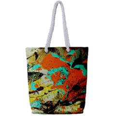 Fragrance Of Kenia 9 Full Print Rope Handle Tote (small) by bestdesignintheworld