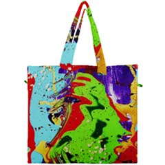 Untitled Island 1 Canvas Travel Bag by bestdesignintheworld