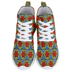Artwork By Patrick Colorful 43 Women s Lightweight High Top Sneakers