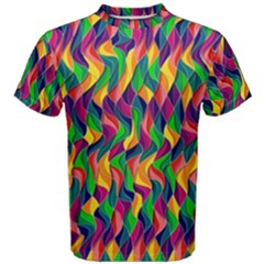 Artwork By Patrick Colorful 44 Men s Cotton Tee