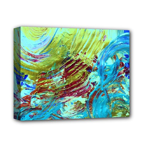 June Gloom 12 Deluxe Canvas 14  X 11  by bestdesignintheworld