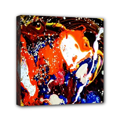 Smashed Butterfly 8 Mini Canvas 6  X 6  by bestdesignintheworld