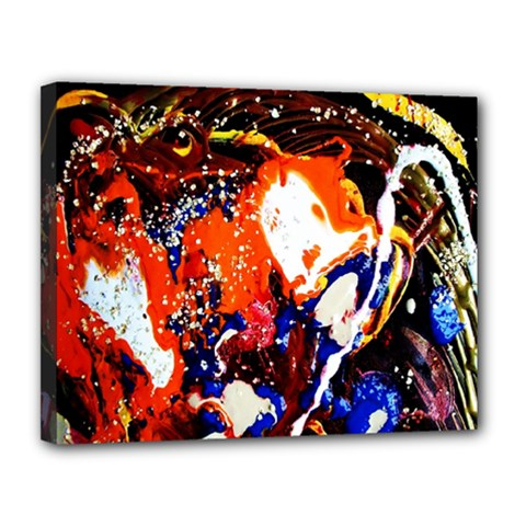 Smashed Butterfly 8 Canvas 14  X 11  by bestdesignintheworld