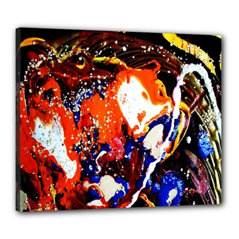 Smashed Butterfly 8 Canvas 24  X 20  by bestdesignintheworld