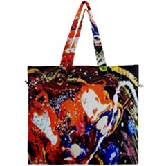 Smashed Butterfly 8 Canvas Travel Bag by bestdesignintheworld