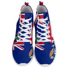 Flag Of Ascension Island Men s Lightweight High Top Sneakers