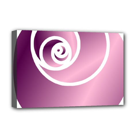 Rose Deluxe Canvas 18  X 12   by Jylart