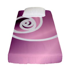 Rose Fitted Sheet (single Size) by Jylart