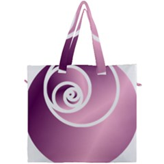 Rose Canvas Travel Bag by Jylart