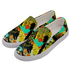 Fragrance Of Kenia 6 Men s Canvas Slip Ons by bestdesignintheworld