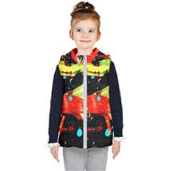 Enigma 2 Kid s Hooded Puffer Vest by bestdesignintheworld