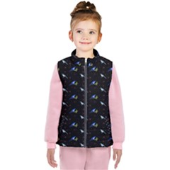 Magpies And Mistletoe  Kid s  Puffer Vest