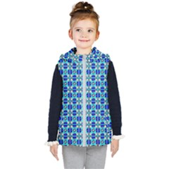 Artwork By Patrick Colorful 45 2 Kid s Hooded Puffer Vest