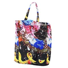 Smashed Butterfly 5 Giant Grocery Zipper Tote