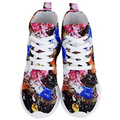 Smashed Butterfly 5 Women s Lightweight High Top Sneakers