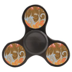 Fire And Water Finger Spinner by digitaldivadesigns