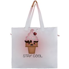 Stay Cool Canvas Travel Bag by ZephyyrDesigns