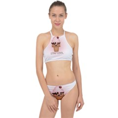 Stay Cool Racer Front Bikini Set