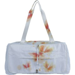 Flower Color Pink Multi Function Bag