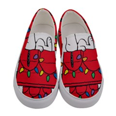 Peanuts Snoopy Women s Canvas Slip Ons