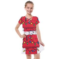 Peanuts Snoopy Kids  Cross Web Dress