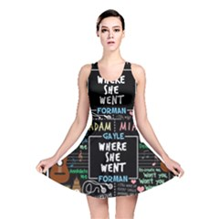 Book Quote Collage Reversible Skater Dress