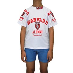 Harvard Alumni Just Kidding Kids  Short Sleeve Swimwear