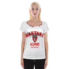 Harvard Alumni Just Kidding Cap Sleeve Tops