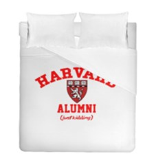Harvard Alumni Just Kidding Duvet Cover Double Side (full/ Double Size) by Samandel