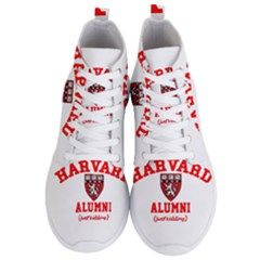 Harvard Alumni Just Kidding Men s Lightweight High Top Sneakers