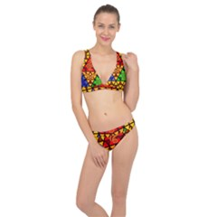 The Triforce Stained Glass Classic Banded Bikini Set