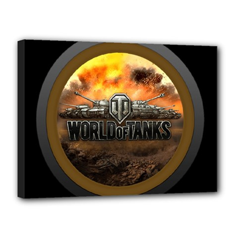 World Of Tanks Wot Canvas 16  X 12