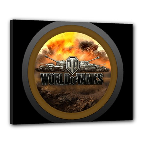 World Of Tanks Wot Canvas 20  X 16