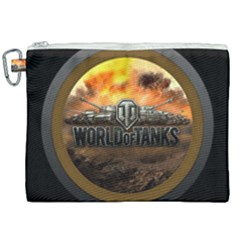 World Of Tanks Wot Canvas Cosmetic Bag (xxl)