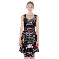 Metal Bands College Racerback Midi Dress