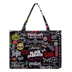 Metal Bands College Medium Tote Bag