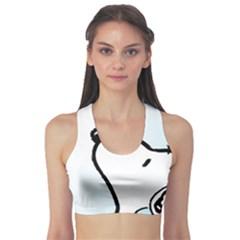 Snoopy Love Sports Bra