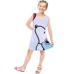 Snoopy Love Kids  Tunic Dress
