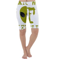 I Want To Believe Cropped Leggings