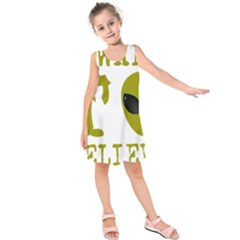 I Want To Believe Kids  Sleeveless Dress