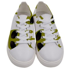I Want To Believe Women s Low Top Canvas Sneakers