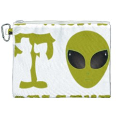 I Want To Believe Canvas Cosmetic Bag (xxl) by Samandel