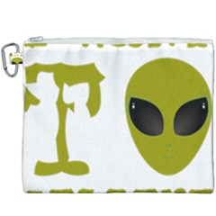 I Want To Believe Canvas Cosmetic Bag (xxxl) by Samandel