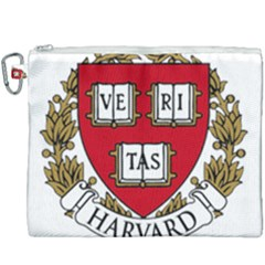 Harvard University Logo Canvas Cosmetic Bag (xxxl) by Samandel