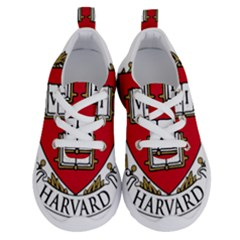 Harvard University Logo Running Shoes by Samandel