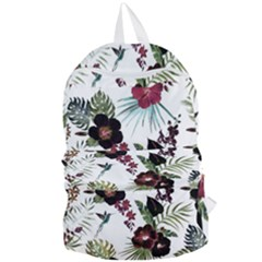 Tropical Pattern Foldable Lightweight Backpack