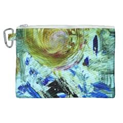 June Gloom 6 Canvas Cosmetic Bag (xl) by bestdesignintheworld