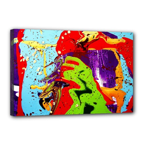 Untitled Island 5 Canvas 18  X 12  by bestdesignintheworld